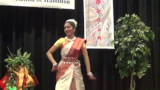 Momo Chitte Niti Nritye Dance Performed By Anica