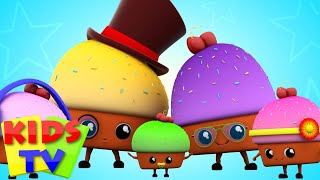 Muffin Finger Family | Nursery Rhymes Songs For Kids | Rhymes For Children