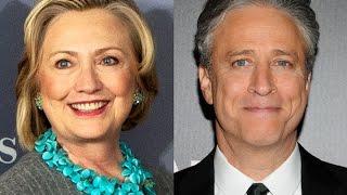 Jon Stewart Has Some Harsh Words For Hillary Clinton
