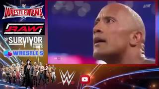 WWE - John Cena & The Rock Vs The Wyatt Family Crazy match (you must watch it) Original HD