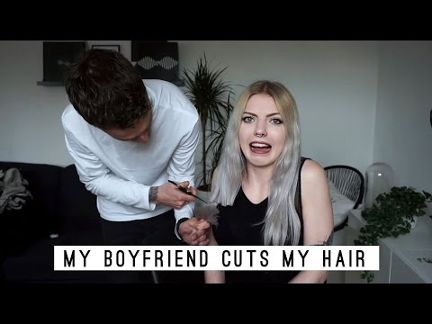 MY BOYFRIEND CUTS MY HAIR | bye long hair