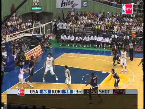 watch USA Dream Team vs. Korea (FIBA 2006)