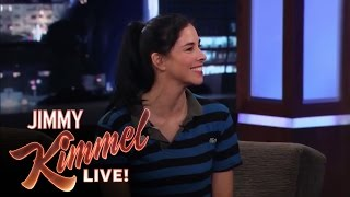 Sarah Silverman Talks to Matt Damon About Her Relationship with Jimmy Kimmel