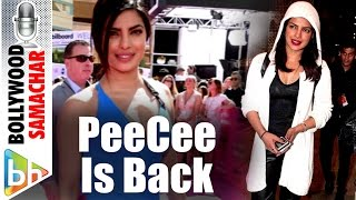 Priyanka Chopra The Quantico Star Is Back In Town!
