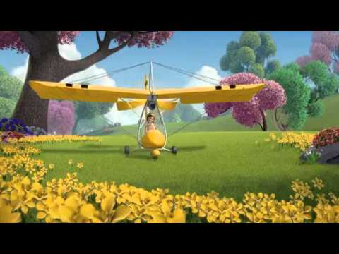 BEE movie Plane Crash