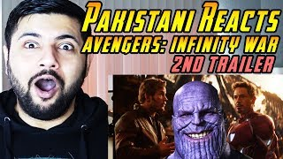 Pakistani Reacts to Avengers: Infinity War - Official Trailer