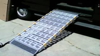 Roll-A-Ramp - Portable wheelchair ramp by BILD