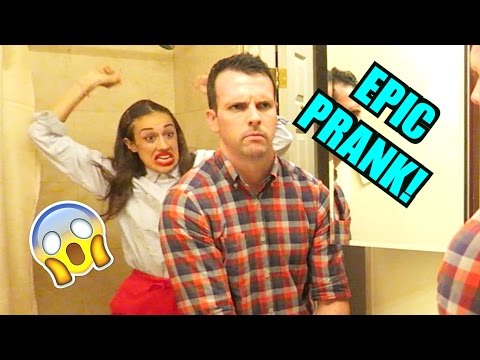 HILARIOUS PRANKS! (w/ Eh Bee Family)