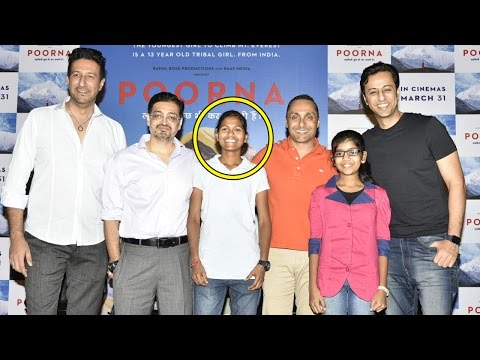 Poorna Trailer Launch Based On Real Story Of 13 Year Old Indian Girl Climbing Mount Everest