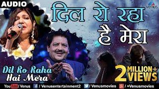 Dil Ro Raha Hai Mera | दिल राे रहा है मेरा  | Bollywood Sad Songs | Bollywood Songs | Udit & Alka