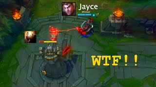 LoL Best Moments #44 Jayce one hit one Turret (League of Legends)