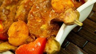 Eggplant Stew Mosama bademjan (khoresht) recipe