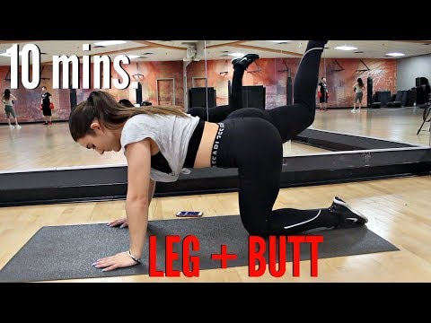 Xxx Mp4 10 Minute BUTT And Thigh Workout How To Get A Bigger BUTT FAST 3gp Sex