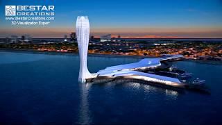 animation for zaha hadid Architects