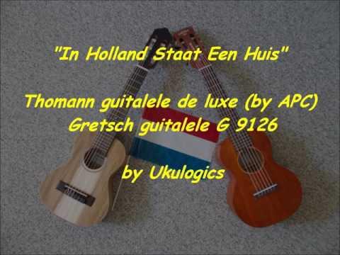 Thomann Guitalele deluxe & Gretsch Guitalele -
