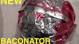 Wendy's new Baconator Review 2016