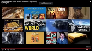 Live Stream:  The Second Book of Enoch
