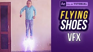 Flying Shoes VFX | After Effects Tutorial | Raj Angad vines