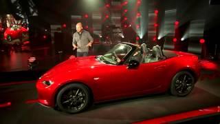 Mazda MX-5 Miata ND 2016 reveal