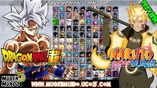 Dragon Ball Super & Naruto MUGEN 1.1 MugenMundo - SHOWCASE (DOWNLOAD) #Mugen #AndroidMugen