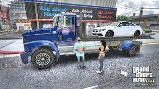 GTA 5 REAL LIFE MOD #431 CECE CRASHED THE AMG (GTA 5 REAL LIFE MODS)
