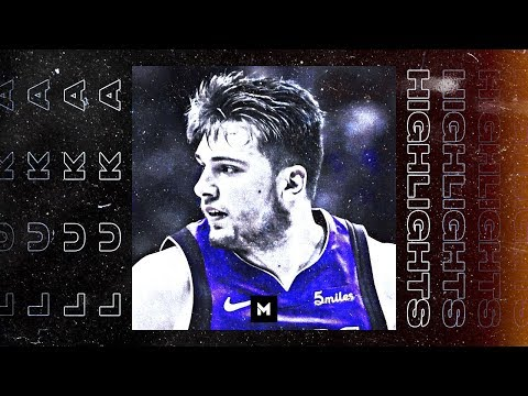 Luka Doncic BEST Highlights from 18 19 NBA Season Rookie of the Year PART 1