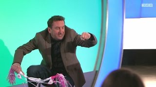 Lee Mack's pink little bicycle - Would I Lie to You? [HD][CC]