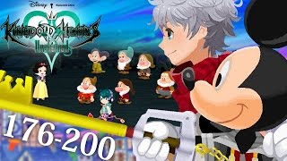 [NA] #08 - Kingdom Hearts Unchained χ - Quests 176 — 200 - Damsel in Distress