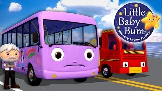 Wheels On The Bus | Part 9 | Nursery Rhymes | By LittleBabyBum!
