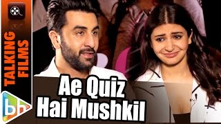 Ae Quiz Hai Mushkil! How Well Do Ranbir Kapoor & Anushka Sharma Know Pritam