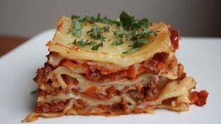 How To Make Lasagna - آموزش درست کردن لازانیا