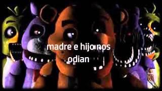 canción fnaf en español en reversa con subtitulos