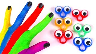 Learn Colors with Body Paint and Nursery Rhyme for Kids