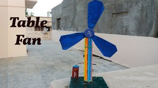How to Make a Table Fan using plastic bottle