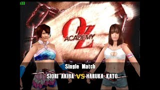 Project Joshi Matches - Siori Akiba vs Haruka Kato