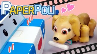 #Special compilation 9 - Cute toys!   Paper POLI [PETOZ]   Robocar Poli Special