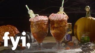 Sweet Treats: Halloween Zombie Brains Cocktail Recipe | FYI