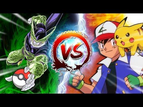 Dragon Ball Z Abridged Cell Vs Ash Ketchum CellGames TeamFourStar