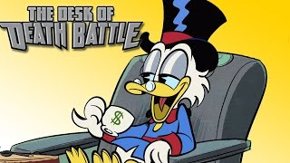 SCROOGE MCDUCK IS HOW RICH?! | The Desk of DEATH BATTLE