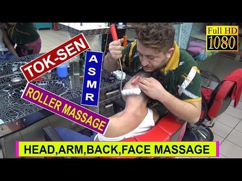 Xxx Mp4 ASMR TOK SEN MASSAGE ROLLER MASSAGE NECK CRACK Head Back Arm Face MASSAGE 3gp Sex