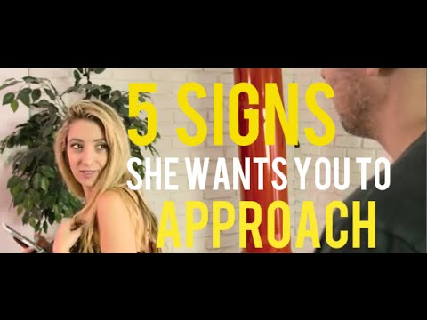 5 Keys Signs She Wants To Be Approached