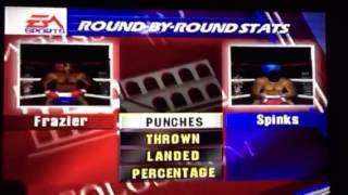 Joe Frazier vs Leon Spinks - Knockout Kings 2000
