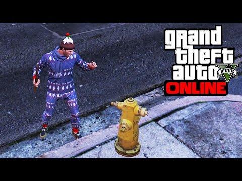 GTA V ONLINE [36]: Cata devine Moșul Modern și Omoară Civili!