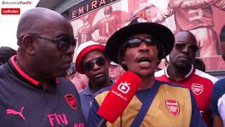Fan Has Reggae Lyrics Dedicated To Arsene Wenger! 🇯🇲| Arsenal 4-1 West Ham