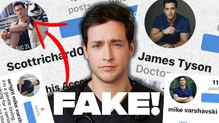 Doctor Reacting to FAKE Accounts Of Me & Catfish SCAMS