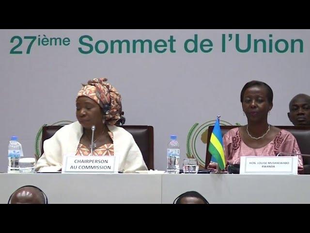 RWANDA SOMMET UA - Session NEPAD