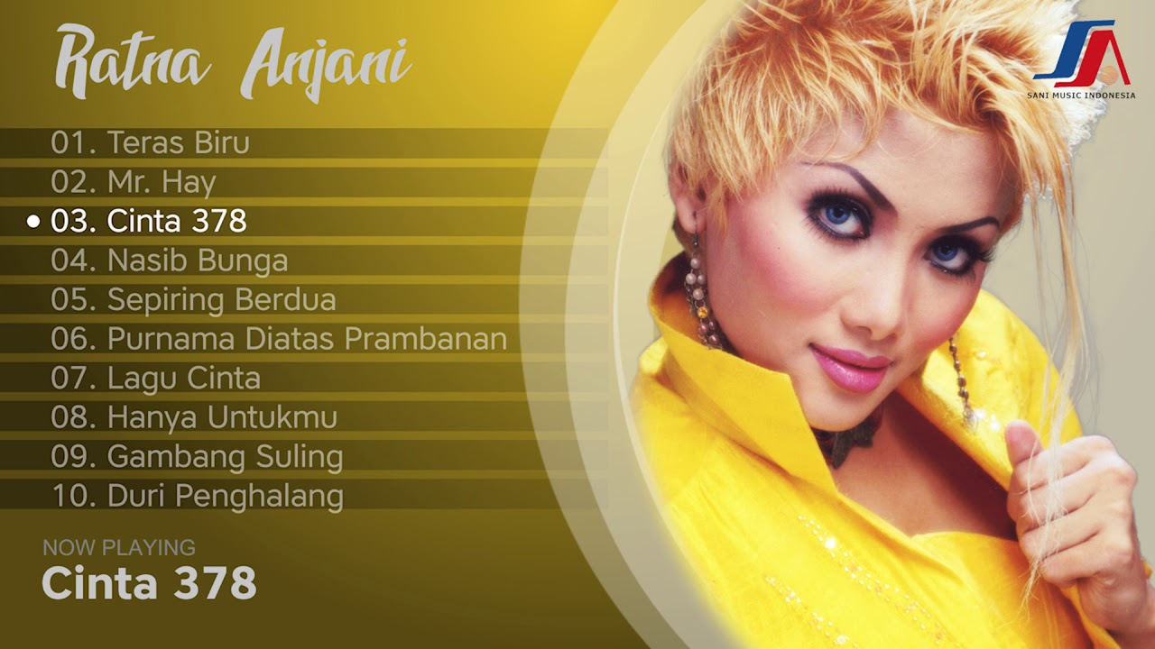 Sani Music Indonesia TOP 10 Songs - Ratna Anjani (High Quality )