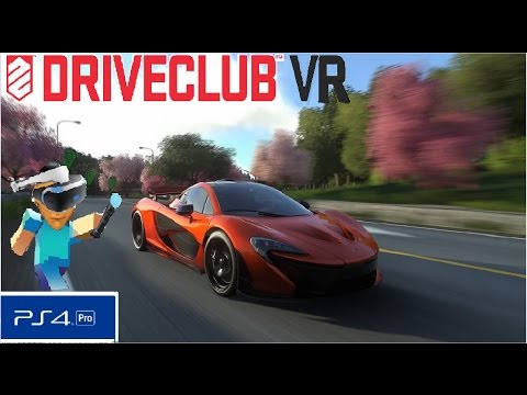 Drive Club VR - V1.01 ( PRO ) Whats The Difference? PS4 PSVR