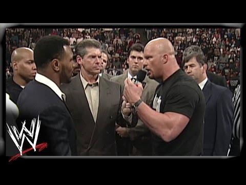 Tyson and Austin brawl on Raw WWE Raw