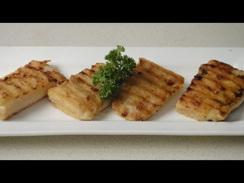 Grilled Fish Fingers